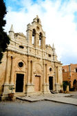 Monastery of Arkadi on island Crete — Stock Photo