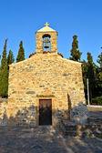Stone chapel of 16 centuries — Stock Photo