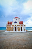 Temple at the sea — Stock Photo