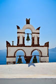 Bells of Santorini — Stock Photo