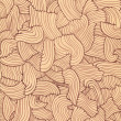 Stock Photo: Hand drawn wavy lines texture