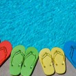 Summer Flipflops - Stock Photo