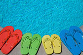 Summer Flipflops — Stock Photo
