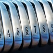 Golf Irons — Stock Photo #7340654