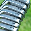 Golf Irons — Stock Photo #7340709