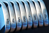 Golf Irons — Stock Photo