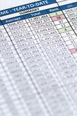 Finanzas — Foto de Stock