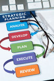 Strategy Plans — Stock Photo