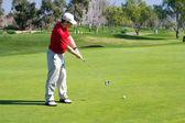 Golfspelare — Stockfoto