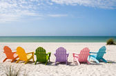 Summer Vacation Beach — Stock Photo