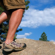 Stock Photo: Trail Running