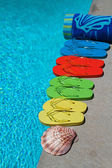 Summer Flipflops — Stock Photo