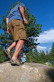 Trail Running — Stock Photo