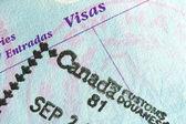 Passport Stamp — Stock Photo