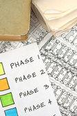 Architectural Blueprints — Stock Photo