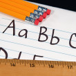 Education ABCs - Stockfoto
