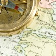 Antique Map - Stock Photo