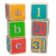 Toy Blocks - Stock Photo