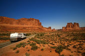 Vacation Travel Arches NP — Stock Photo