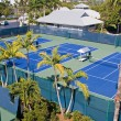 Resort Tennis Club — Stock Photo #7386424