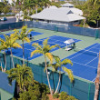Resort Tennis Club — Stock Photo #7386424