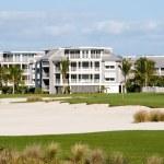 Golf Course Condos — Stock Photo