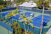 Resort Tennis Club — Stock Photo