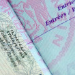 Passport Stamp — Stock Photo