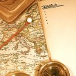 Vintage Map and Chart — Stock Photo #7452576