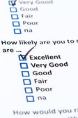 Customer Survey — Stock Photo