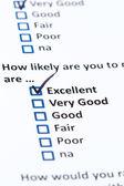 Customer Survey — Stock Photo