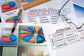 Business Charts — Stock Photo