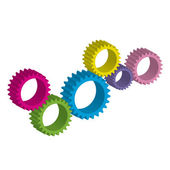 Cog-wheel — Stock Vector