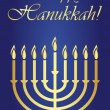 Royalty-Free Stock Vectorielle: Hanukkah
