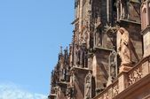 Minster of Freiburg im Breisgau Details — Stock Photo