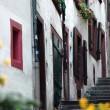 Basel Altstadt Gasse — Stock Photo