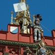 Basel historisches Rathaus — Stock Photo