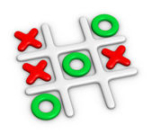 Tic-Tac-Toe — Stock Photo