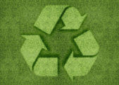 Recycle sign — 图库照片