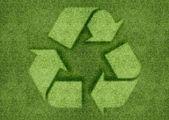 Znak recyklingu — Zdjęcie stockowe