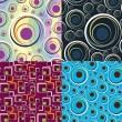 Abstract seamless background - Stock Photo