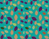 A seamless leaf pattern — Stock Photo