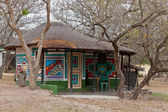 Lodge on a campsite near Kruger park — Stock Photo