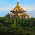 Temple in Asia near the river — Stock Photo #7752334