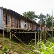 Long house of the Iban tribe — Stock Photo #7753911