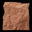 Stock Photo: Crumpled sheet of paper