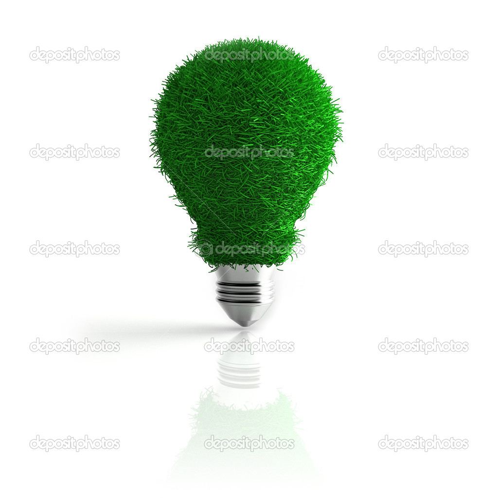 3d render of conceptual eco energy — Stock Photo #7305293