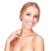 Beautiful girl with pretty smile — Stock Photo