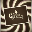 Chocolate background — Stock Vector #7319490