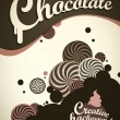 Royalty-Free Stock Vectorafbeeldingen: Chocolate background